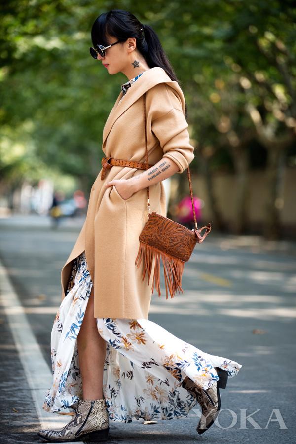 Me&City携手时尚人演绎多变大衣