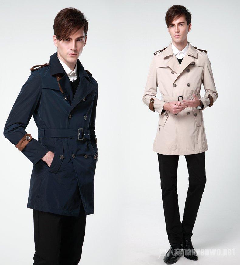 男士韩版风衣怎么搭配? 百搭秋冬外套款式