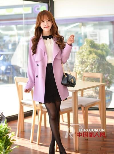 风衣外套搭配 让你穿出韩范气质