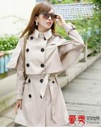 女士风衣外套 韩式风衣优雅时尚