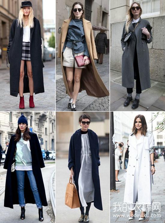 2015秋冬大衣流行趋势 8种必须知道的款式和颜色