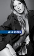 风衣品牌London Fog09秋装广告吉赛尔·