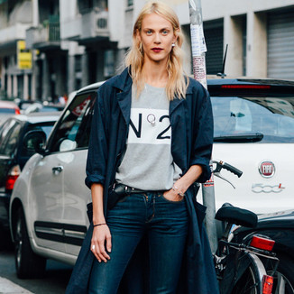 艾梅琳·瓦拉德  现身,Urban Girl着装很有型!模特街拍