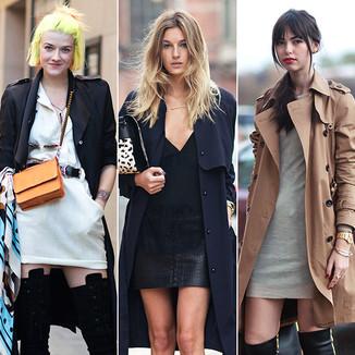 防寒御暖凹造型,百搭风衣再度成为秋季街拍最IN单品!时尚编辑喜爱、人气博