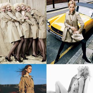 经典风衣造型合辑:一起从大片中感受Trench Coat的时髦魅力时尚杂志大赏