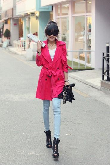 逛街好选择 轻便风衣外套
