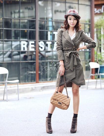 帅气风衣时尚又有型 让很多MM对它们爱不释手
