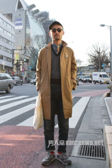 日本男士服饰搭配:薄款风衣走起来