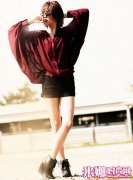 时尚女孩进阶优雅风格 人气成熟造型